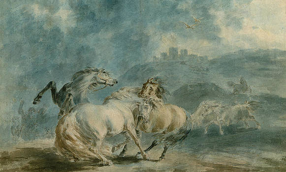 Sawrey Gilpin - Horses Fighting