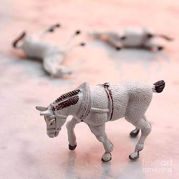 BERNARD JAUBERT - Horses figurine