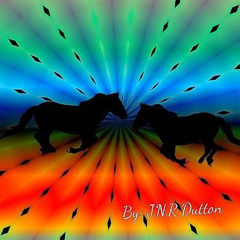 Horses by Jo Nathon Dutton