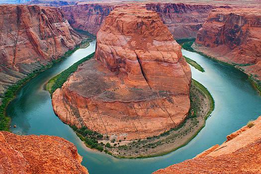 Horseshoe Bend Arizona by Reed Rahn