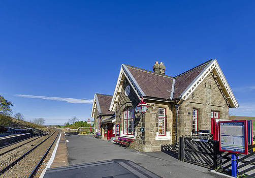 Horton in Ribblesdale Station by Trevor Kersley