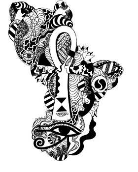 Horus Ankh by Kenal Louis