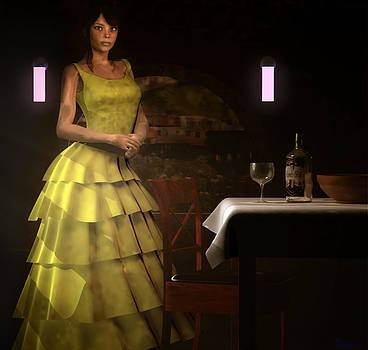 Hostess by Robert Matson