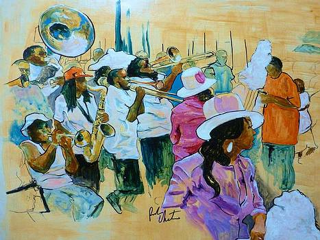 Hot 8 Brass Band Second Line by Reuben Cheatem