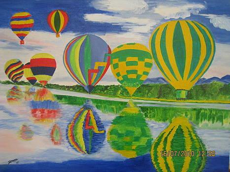 Hot Air Baloons by Saman Khan