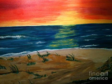 Hot Beach by Pat Cousineau