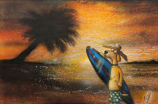 Hot Doggin' by Bill Yurcich