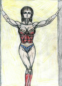 Hot for Wonder Woman by Jody Anthony Thompson