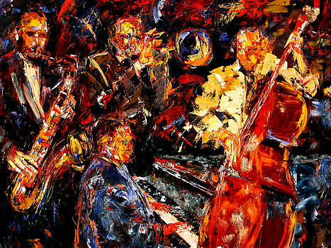 Hot Jazz 2 by Debra Hurd