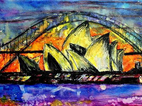 Hot Sydney Night by Lyndsey Hatchwell