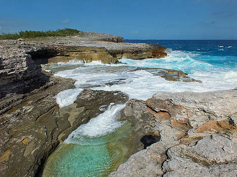 Hot Tubs 5 of Eleuthera by Duane McCullough