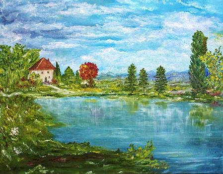 House by the Lake by Julie Lourenco