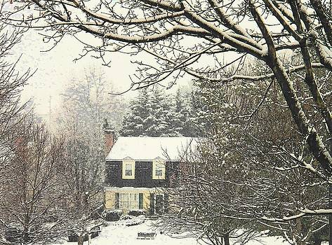 House in Snow by Joyce Kimble Smith
