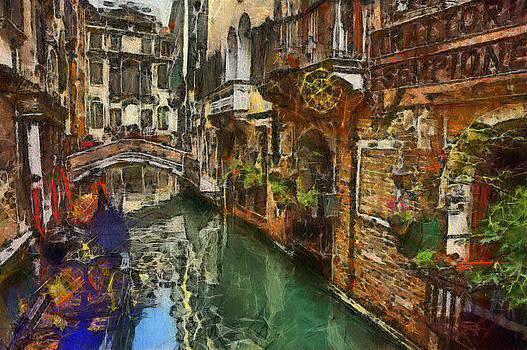 Houses in Venice Italy by Georgi Dimitrov