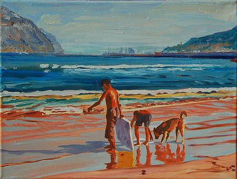 Hout Bay Trio by Thomas Bertram POOLE