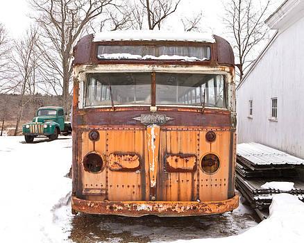 Howie's White Bus by Rebecca Skinner
