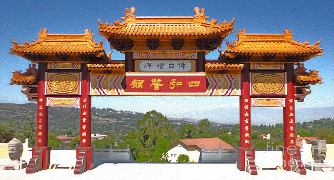 Gregory Dyer - Hsi Lai Temple - 11