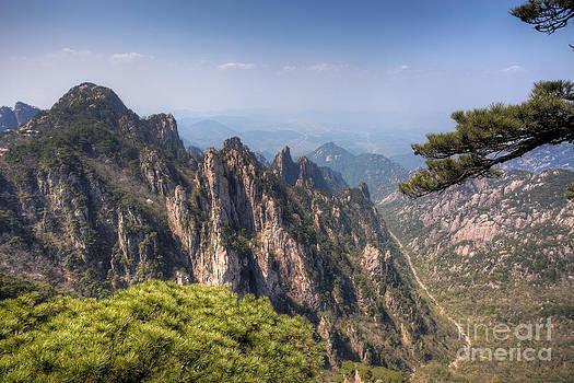 Fototrav Print - Huangshan Mountain Chinese famous landscape