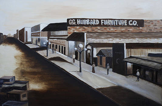 Hubbard Furniture by Scott Hoke