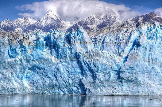 Hubbard Glacier Up Close - Alaska by Bruce Friedman