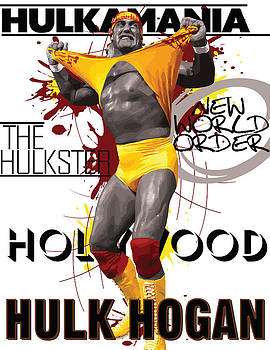 Hulk Hogan by Anibal Diaz