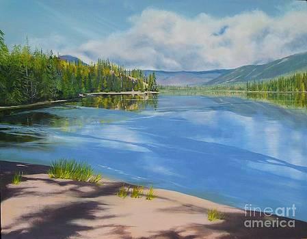 Humamilt Lake by Linda Hunt