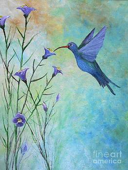 Hummingbird Don't Fly Away Fly Away by Rhonda Lee