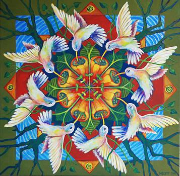Hummingbird Flight by Michelle Scott