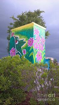 Genevieve Esson - Hummingbird Traffic Signal Box