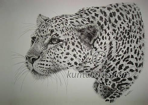 Hunting Leopard by Kuntal Chaudhuri