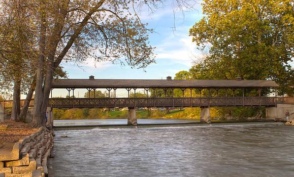 Huroc Park  Flat Rock Michigan by Dave Manning