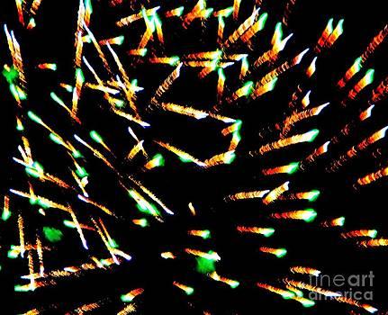 Huron Ohio Fireworks 15 by Jackie Bodnar
