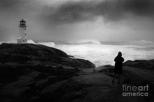 Hurricane Bill and Storm Watcher by Mark Clifford