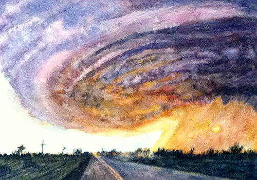 Hurricane Katrina by Carol Warner