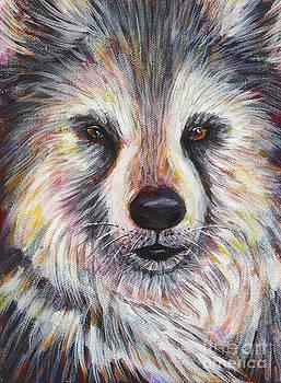 Husky Wolf by Gayle Utter