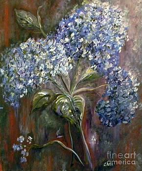Hydrangea Bouquet at Dawn by Eloise Schneider
