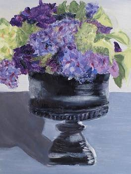 Hydrangea Compote by Cindy Lawson-Kester