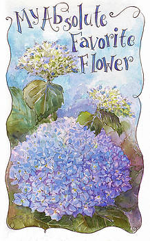 Hydrangea by Leslie Fehling