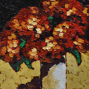 Hydrangeas II by Vickie Warner