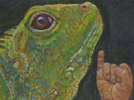 I is for Iguana by Jessmyne Stephenson