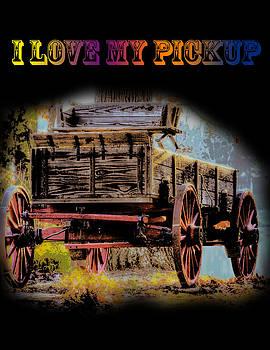Barry Jones - Rustic - Wagon - I Love My Pickup-Black