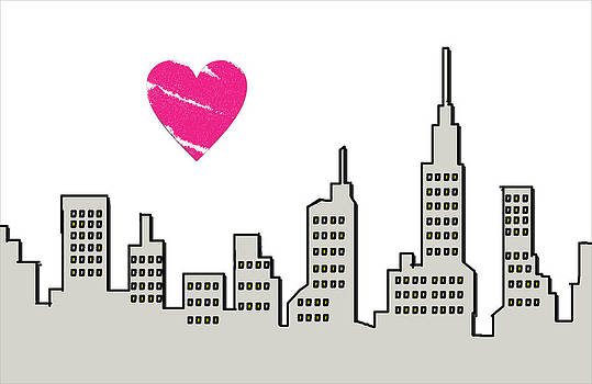 I Love Nyc by MK Square Studio