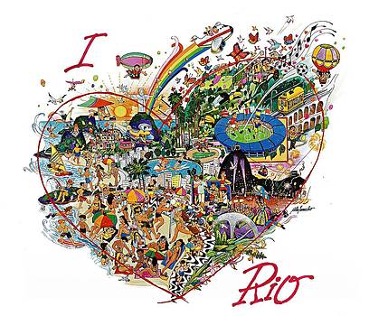 I love Rio by Nilton Ramalho