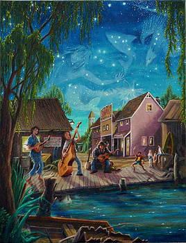 I See A Good Moon Arising by Matt Konar
