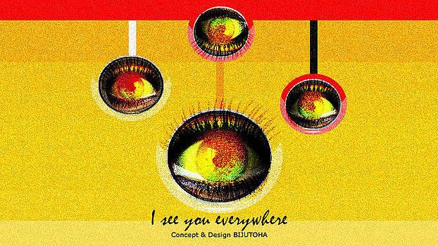 I See You Everywhere  by Biju Toha