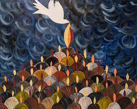 I will pour out my spirit on All my people by Marianne Gonzales