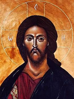 IC-XC The Christ by Fr Barney Deane