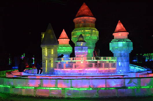 Ice Castle by Brett Geyer