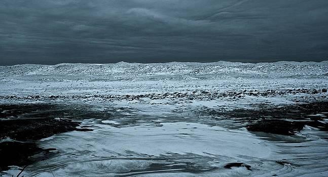 Ice Coast of Lake Michigan by Wendell Lowe