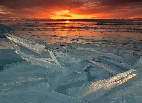Ice Collage by Gregory Israelson